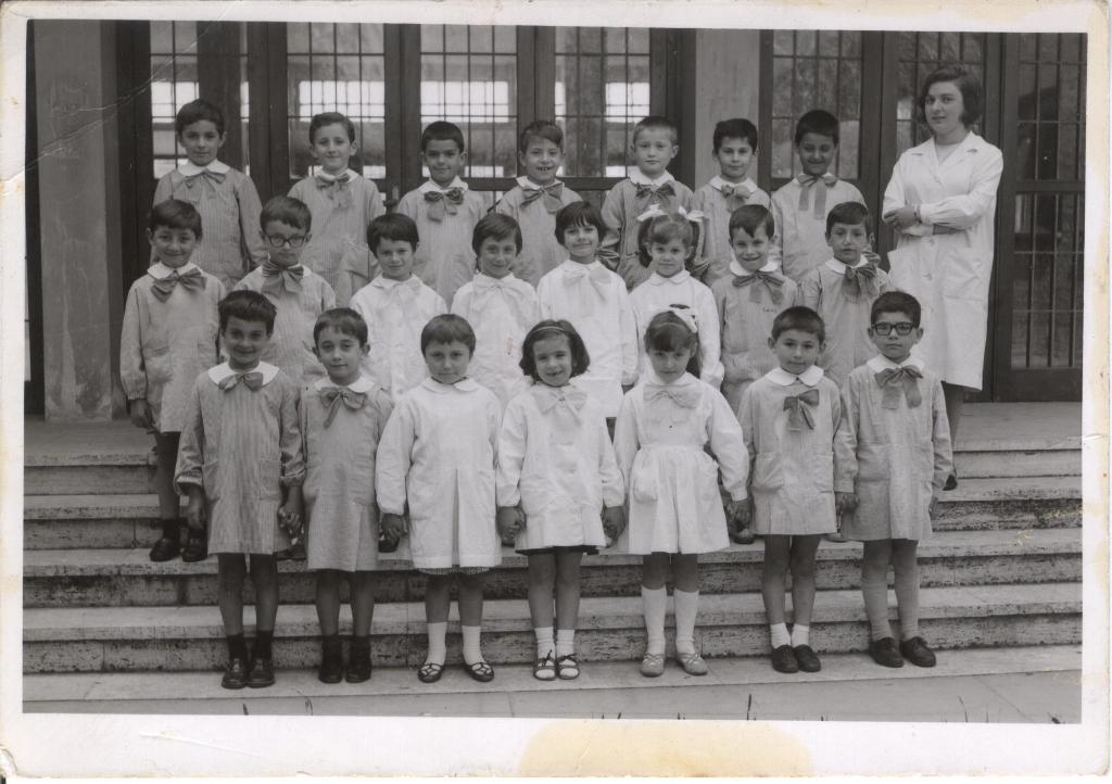 Anno scolastico 1966 / 1967 - Scuola Elementare Luigi Quadri Massa Lombarda - Maestra: Foschini